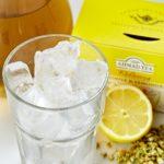 Przepis na Mrożoną herbatę o smaku rumianku i trawy cytrynowej