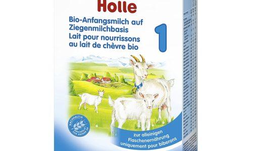 Ekologiczne mleko początkowe 1 na bazie mleka koziego