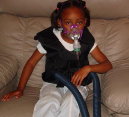 Dziecko chore na mukowiscydozę http://pl.wikipedia.org/wiki/Mukowiscydoza